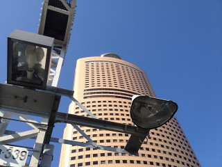 アクトタワー(HDR)で撮影